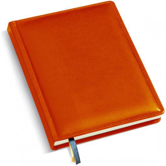 Ежедневник А5, мягкая обложка. Цвет коньячный
