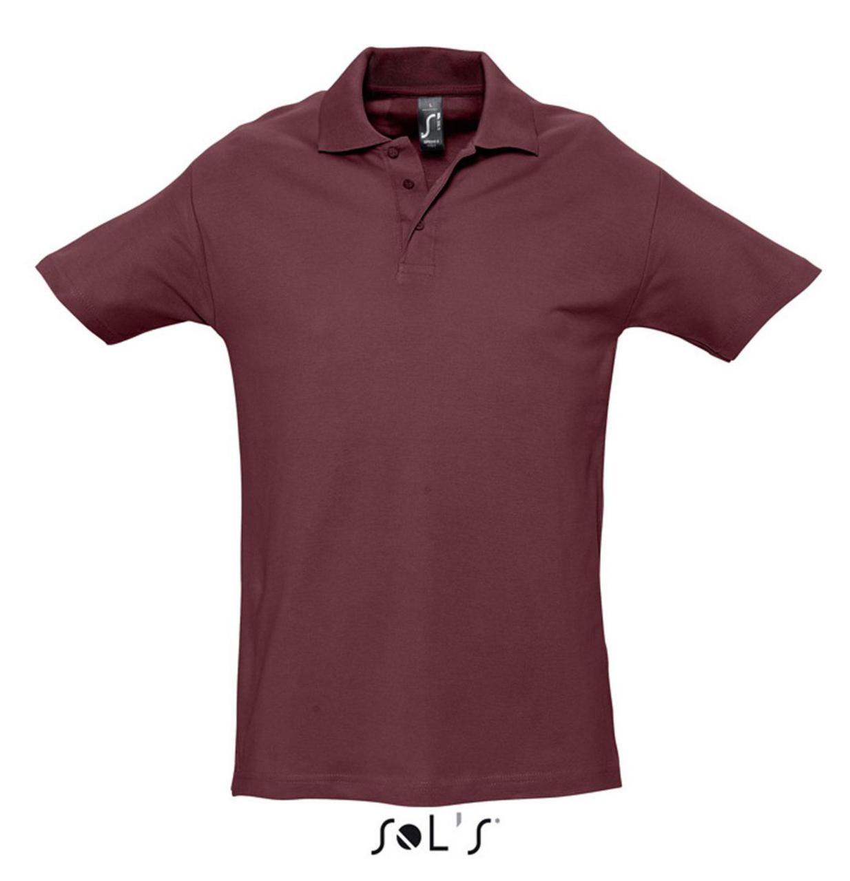 Рубашка поло SPRING II, цвет Burgundy, размер L