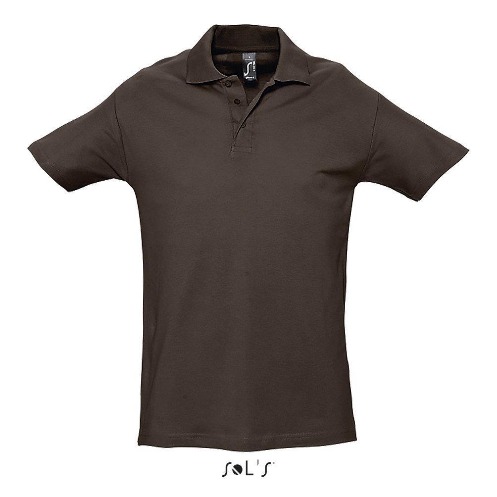 Рубашка Поло SPRING ll, Цвет: Коричневый, Размер S
