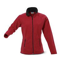 Женская флисовая куртка, цвет красный, размер M