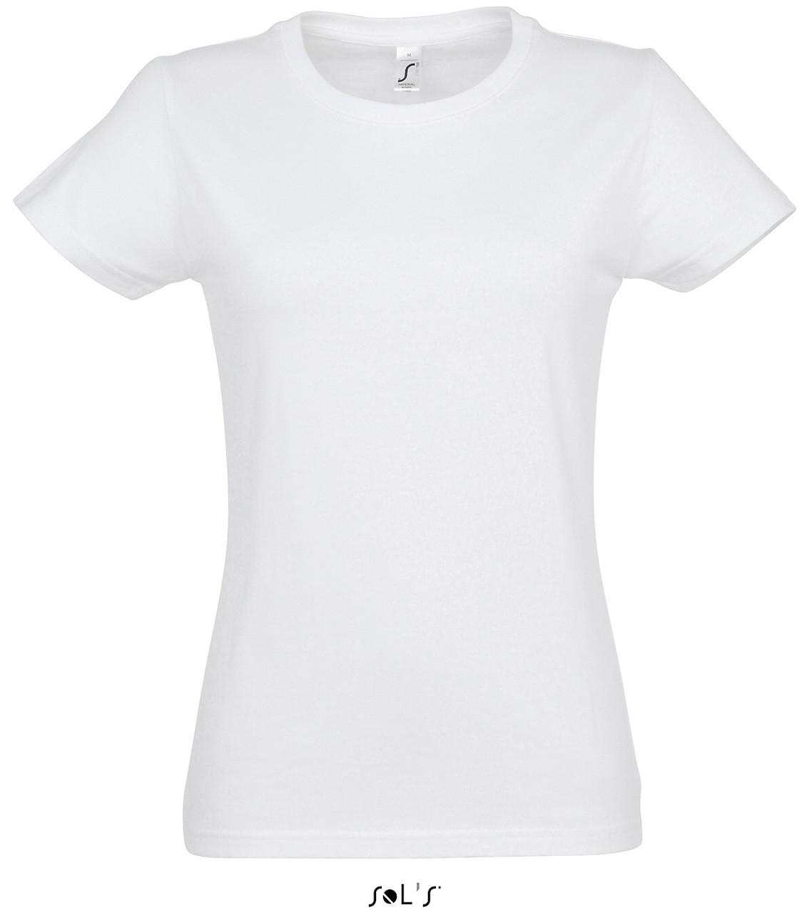 Футболка Imperial, женская, цвет белый, размер XL