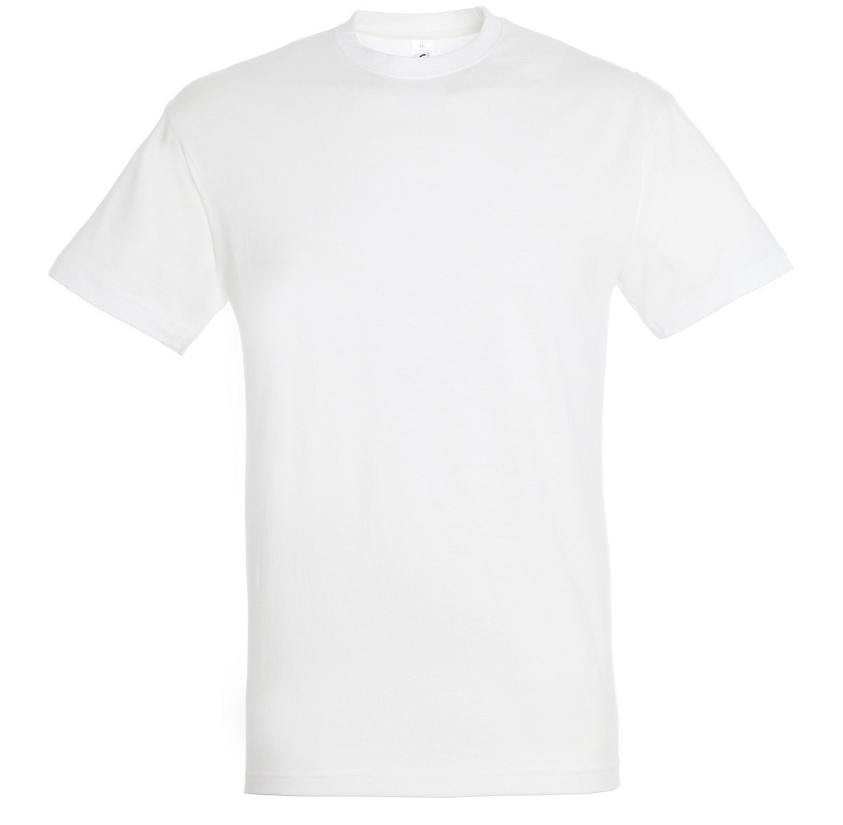 Футболка 100% хлопок, цвет белый, размер S