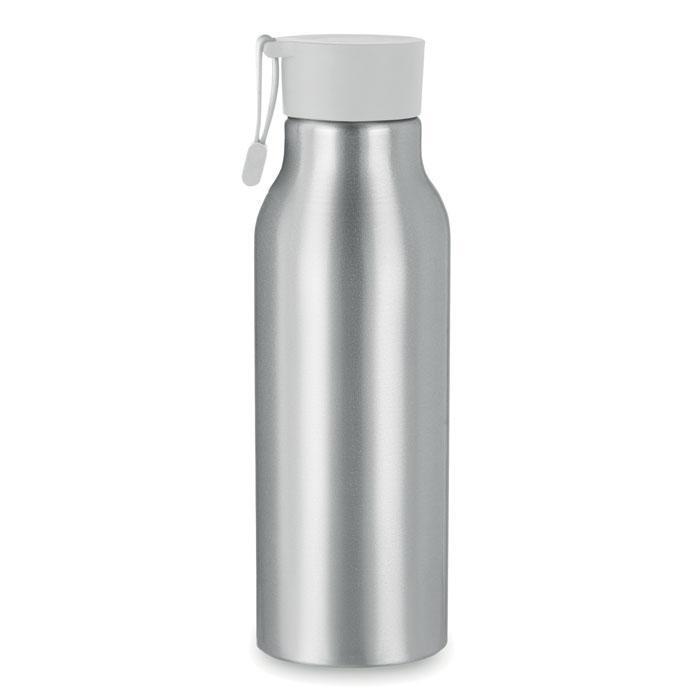 Бутылка. Цвет: серебро / белый