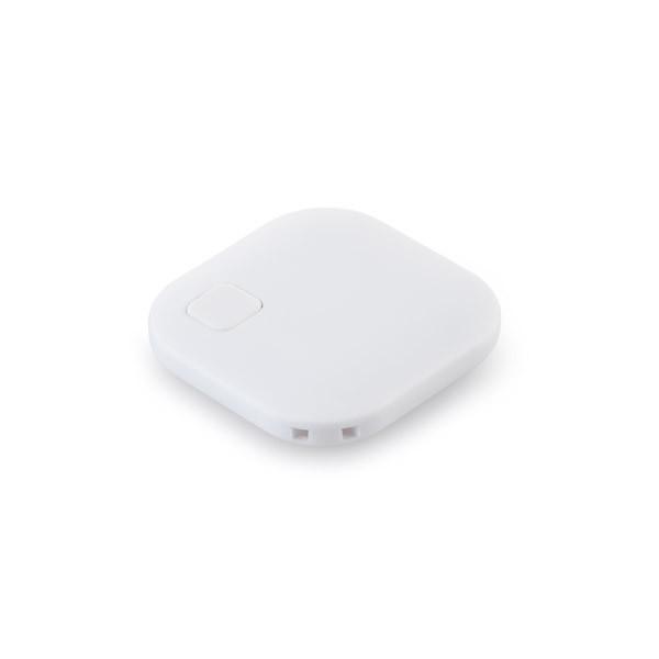 Bluetooth брелок для ключей, цвет белый