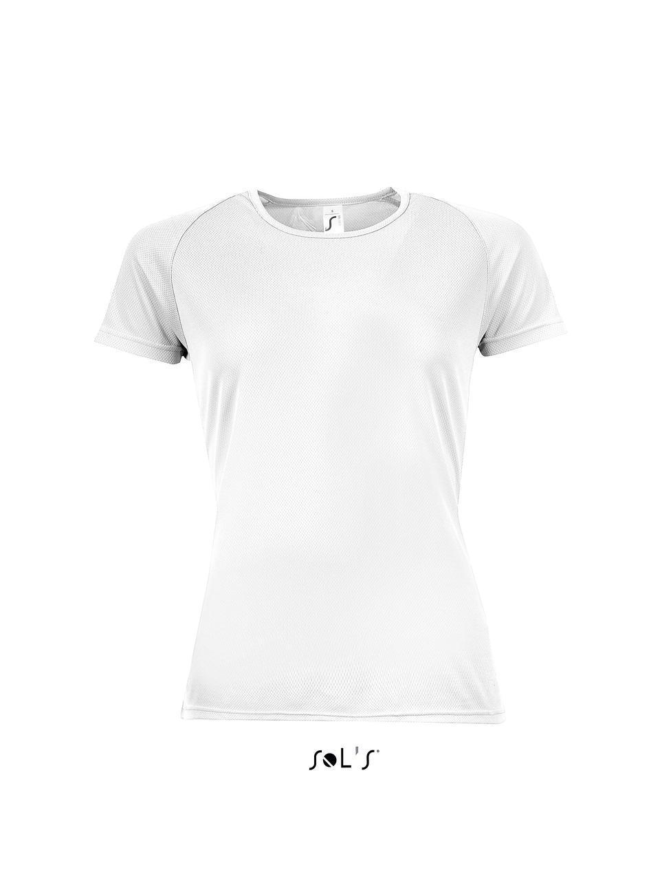 Футболка женская Sol's SPORTY. Цвет Белый. Размер L