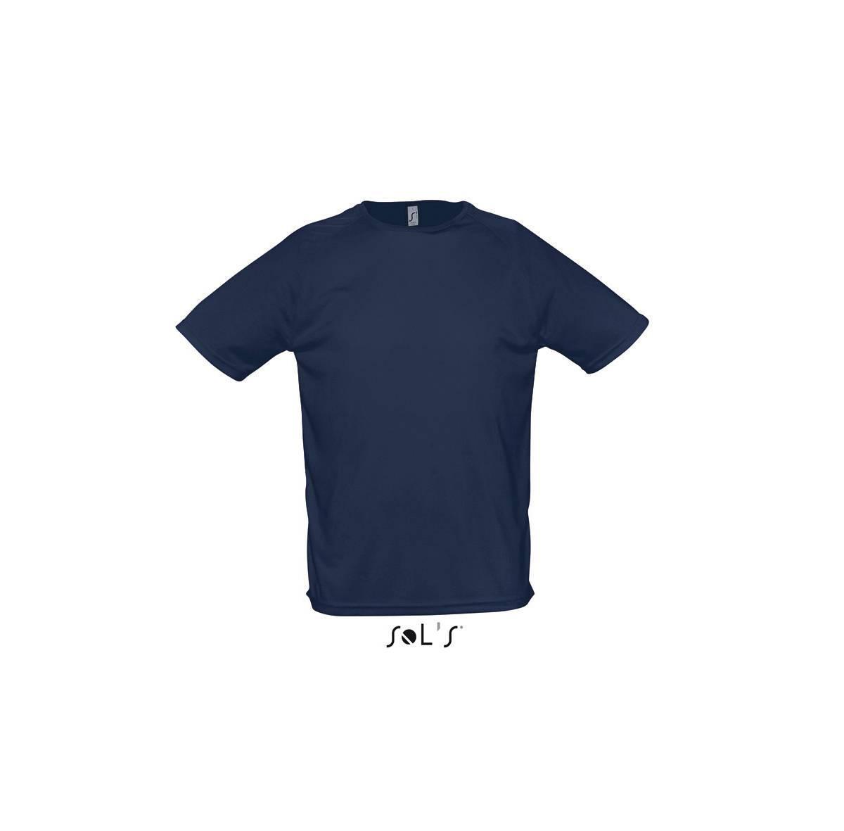 Футболка Sporty мужская, размер XL, цвет темно-синий