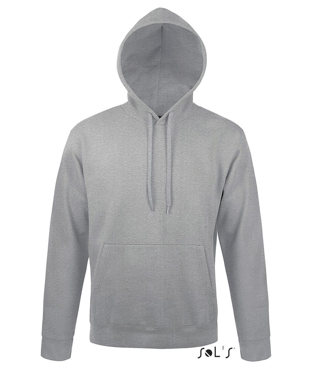 Свитшот унисекс SNAKE, размер S, цвет Серый.