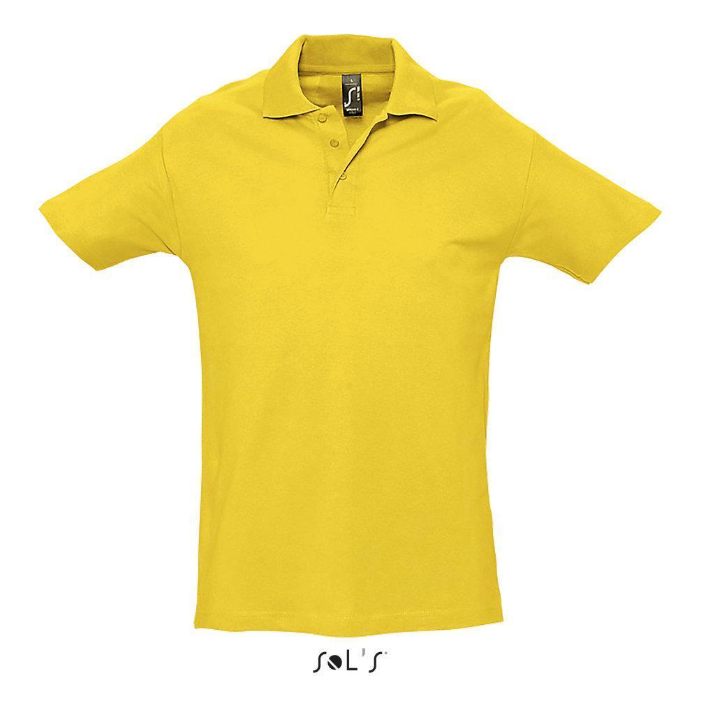 Рубашка поло SPRING II, цвет Золотой, размер L