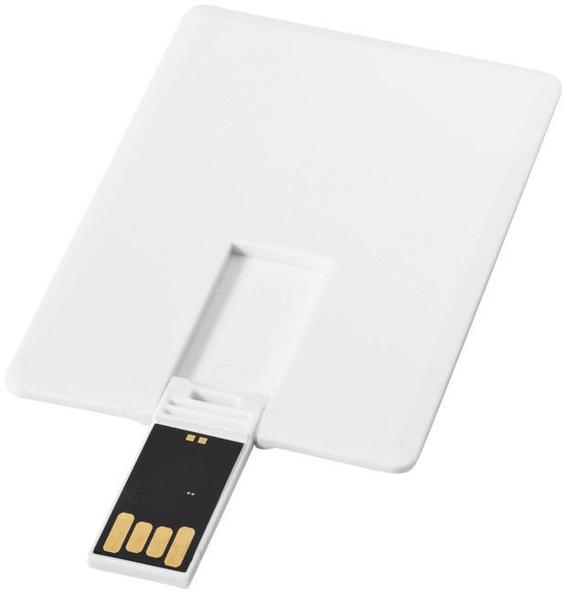 USB накопитель в виде кредитной карты, 8Г. Цвет белый