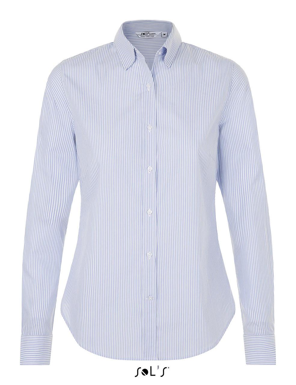 Рубашка мужская BEVERLY WOMEN, цвет голубой 504, размер S