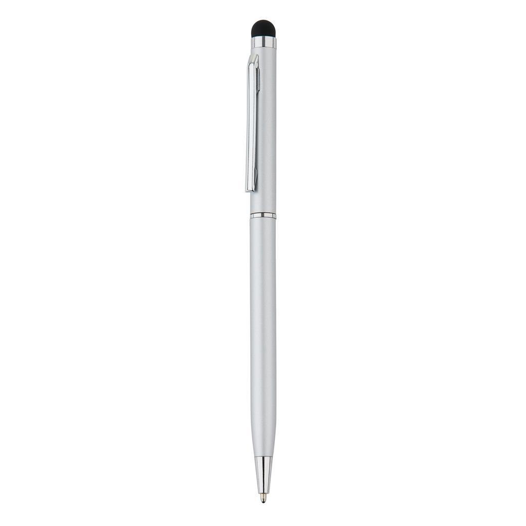 Шариковая ручка в алюминиевом корпусе