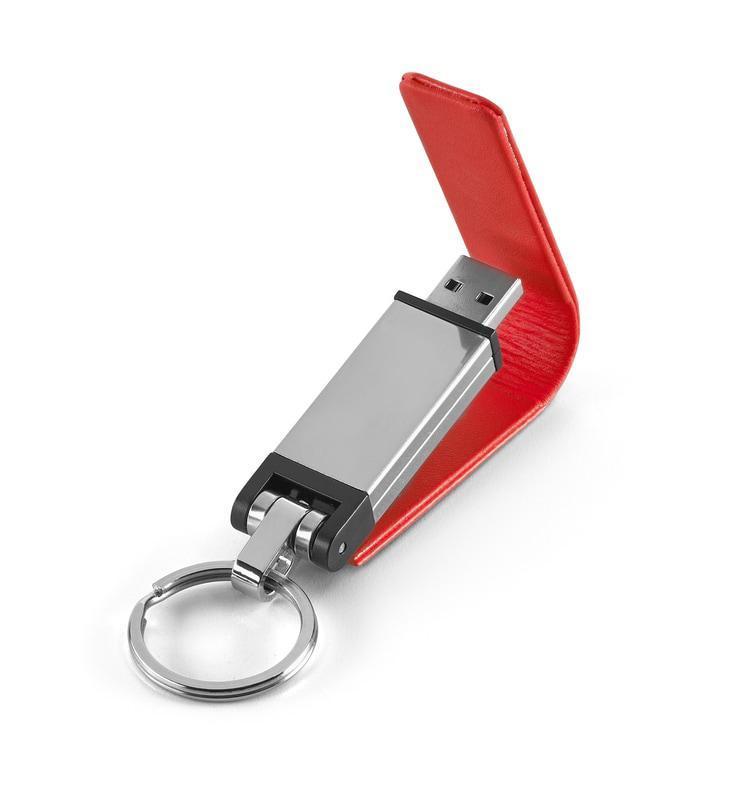USB флешка 4 гб. Цвет: красный.