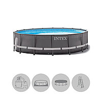 Каркасный бассейн Intex Ultra XTR Frame 26340NP 732 х 132 см
