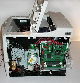 Ремонт копира HP LaserJet 3392