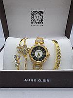 Подарочный набор для женщин ANNE KLEIN, часы с браслетами в подарочный упаковке, 0003-2-60