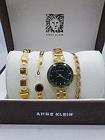 Подарочный набор для женщин ANNE KLEIN, часы с браслетами в подарочный упаковке, 0010-2-60
