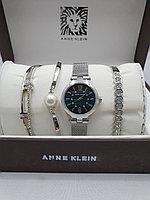Подарочный набор для женщин ANNE KLEIN, часы с браслетами в подарочный упаковке, 0011-2-60
