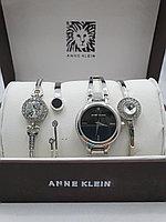 Подарочный набор для женщин ANNE KLEIN, часы с браслетами в подарочный упаковке, 0019-2-60