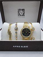 Подарочный набор для женщин ANNE KLEIN, часы с браслетами в подарочный упаковке, 0021-2-60
