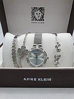 Подарочный набор для женщин ANNE KLEIN, часы с браслетами в подарочный упаковке,  0022-2-60