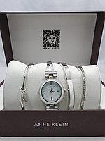 Подарочный набор для женщин ANNE KLEIN, часы с браслетами в подарочный упаковке, 0028-2-60