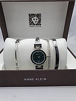 Подарочный набор для женщин ANNE KLEIN, часы с браслетами в подарочный упаковке,  0030-2-60
