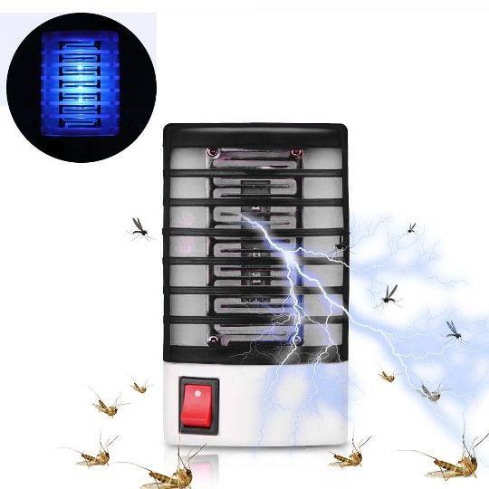 Антимоскитная лампа, ночник Mosquito Killer от комаров, мух и мошек