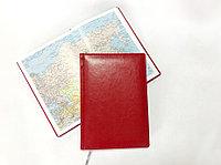 Ежедневник Nebraska недатированный, формат A5 Цвет: красный