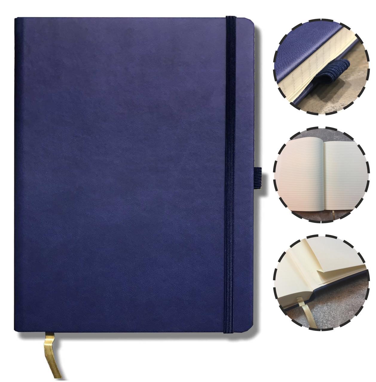 Блокнот TUCSON 19x25 Цвет: Синий