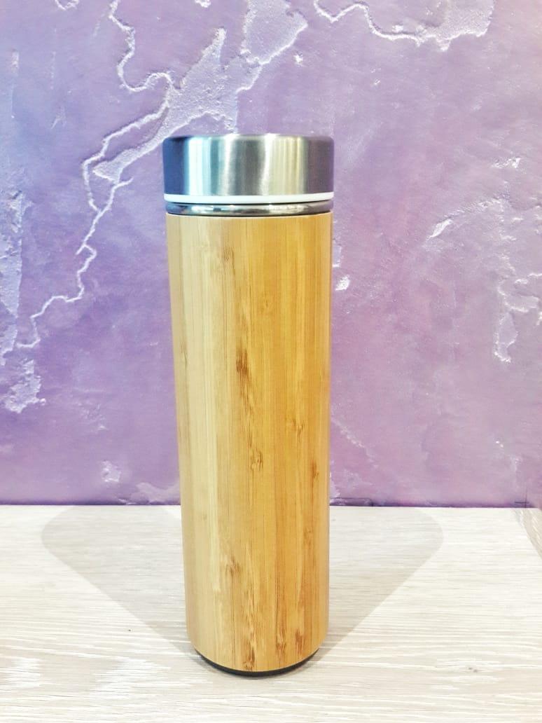 Термос, бамбук. Объём 530 мл
