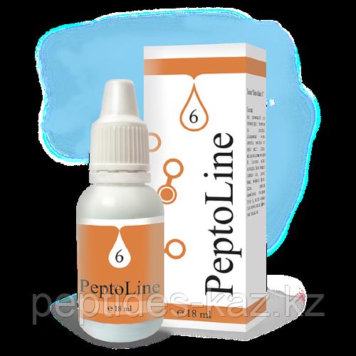 PeptoLine 6 для эндокринной системы, пептидный комплекс 18 мл