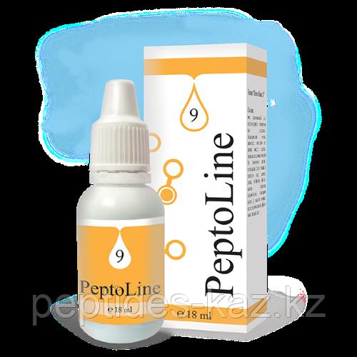 PeptoLine 9 для желудочно-кишечного тракта, пептидный комплекс 18 мл
