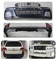 Обвес WALD 570 на Toyota Land Cruiser 200 РЕСТАЙЛИНГ, фото 1