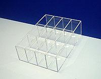 Короб 12 ячеек для ластиков и точилок
