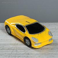 "Копилка ""Машина мечты"", глянец, цвет жёлтый, 8 см"