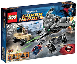 76003 Lego Super Heroes Битва Супермена за Смолвиль, Лего Супергерои DC