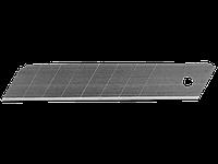 Лезвия сменные сегментированные, 18 мм, 10 шт. в боксе, серия STANDARD, STAYER