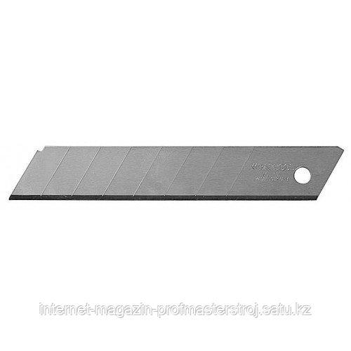 Лезвия сменные сегментированные, 5 шт, 18 мм, 8 сегментов, покрытие TiN,Solingen, KRAFTOOL