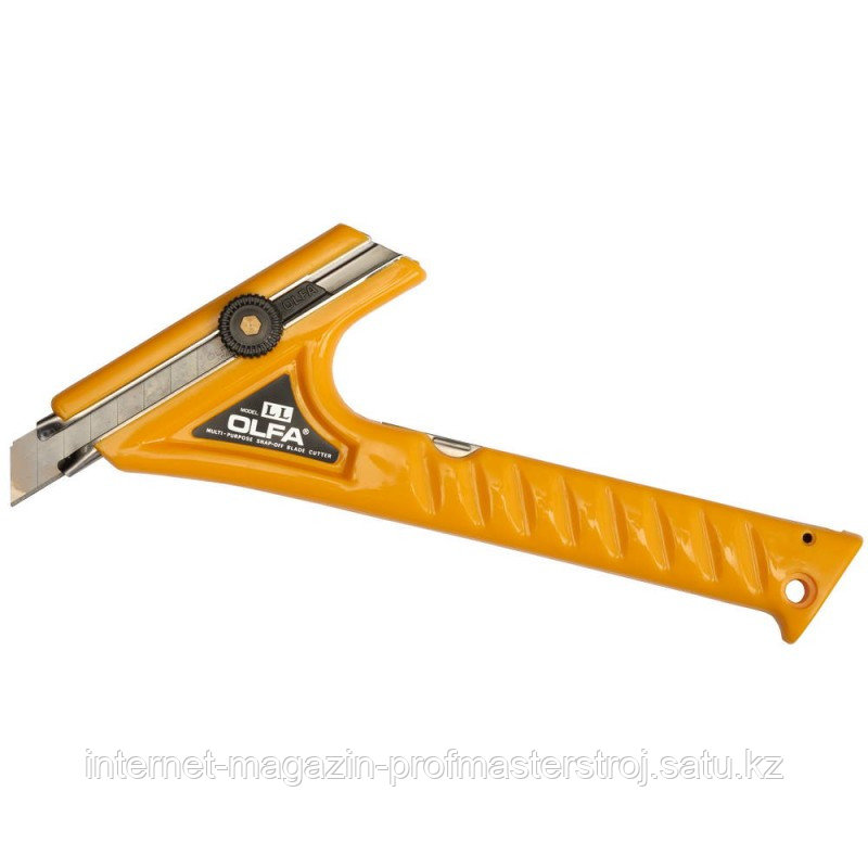 Нож двуручный с выдвижным лезвием с фиксатором, 18 мм, OLFA