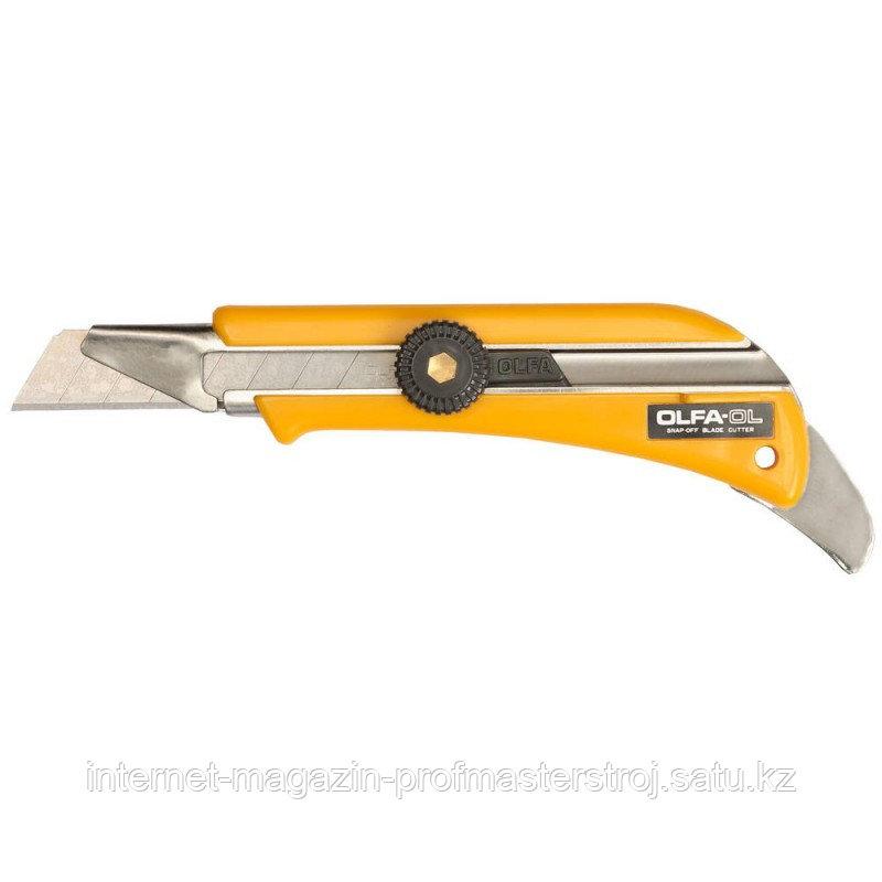 Нож с выдвижным лезвием для ковровых покрытий, 18 мм, OLFA