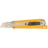 Нож с выдвижным лезвием, с автофиксатором, 18 мм, OLFA