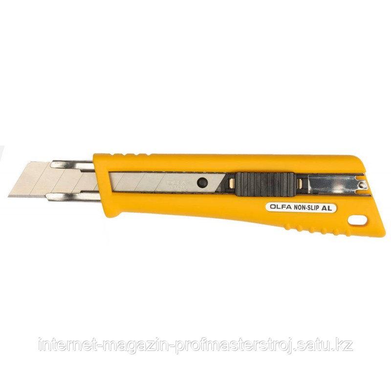 Нож с выдвижным лезвием, со специльным покрытием, автофиксатор,  18 мм, OLFA