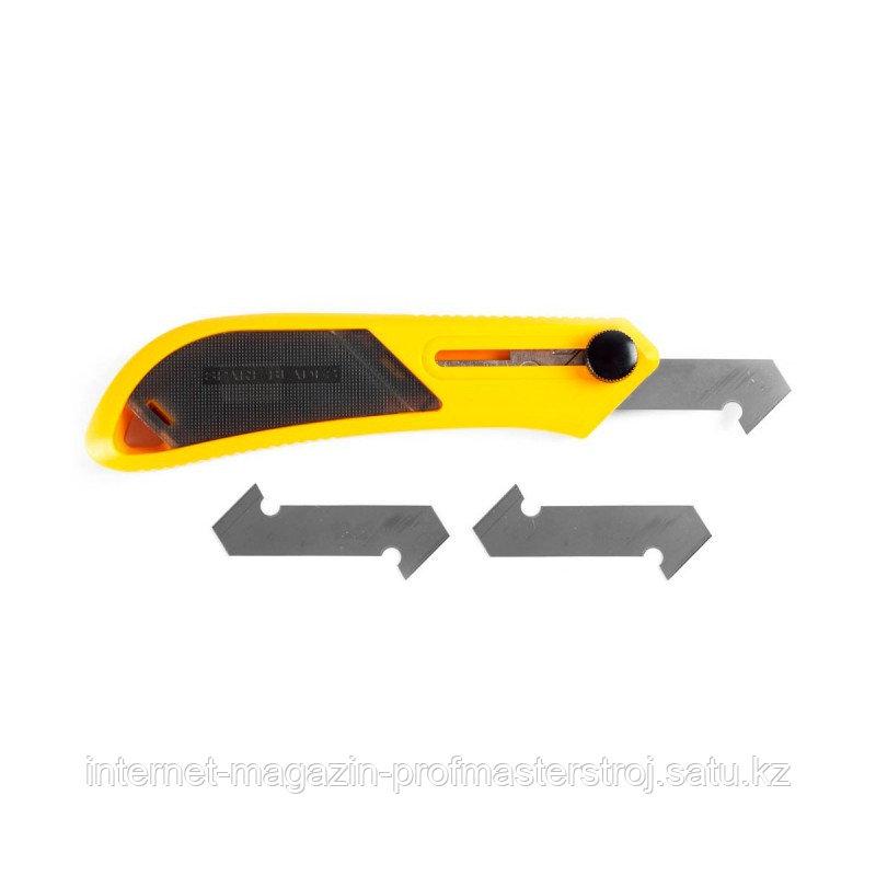 Набор резак для пластика усиленный с 3-мя лезвиями PC-L, 13мм, OLFA