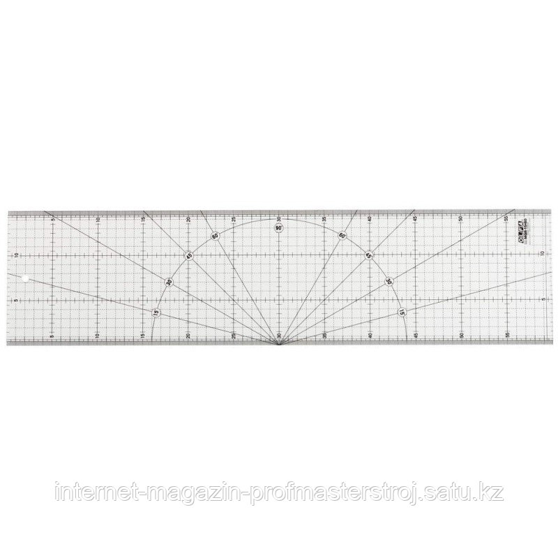 Линейка разметочная, метрическая, 150 х 600мм, OLFA