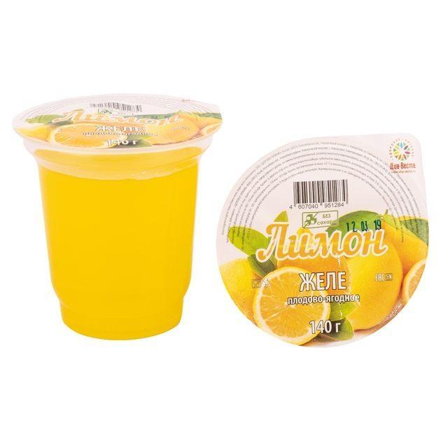 Желе Лимон