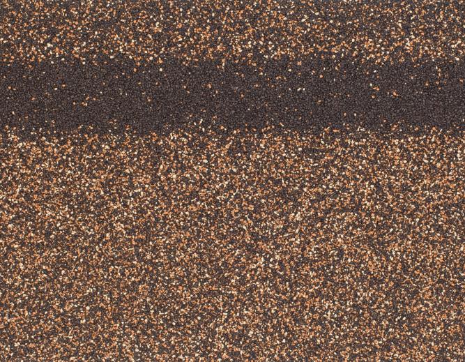 Коньки-карнизы SHINGLAS (Шинглас), 5 м2, Светло-коричневый