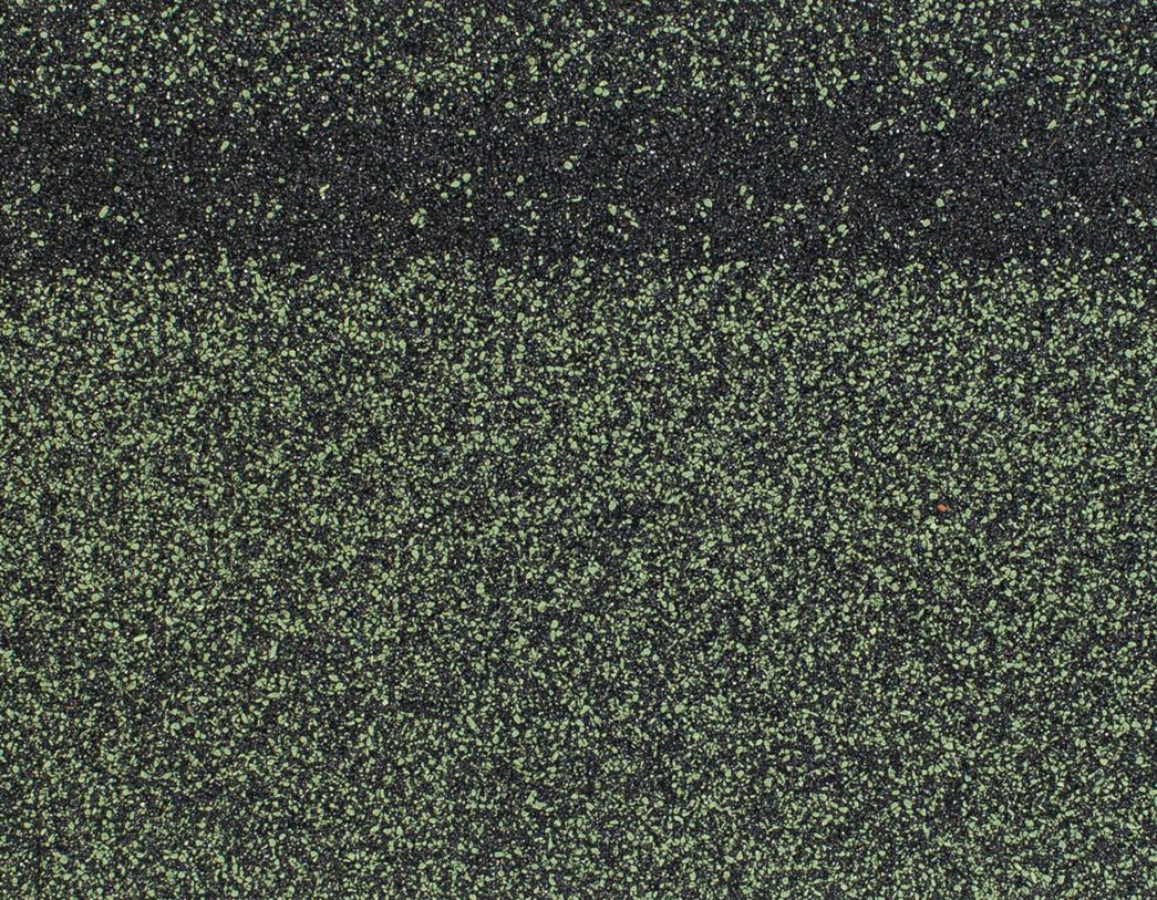 Коньки-карнизы SHINGLAS (Шинглас), 5 м2, Зеленый микс