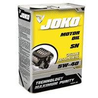 Моторное масло JOKO 5W-40 SN/CF 4 литра