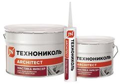 Мастика для гибкой черепицы ТЕХНОНИКОЛЬ №23 (Фиксер), ведро 12 кг