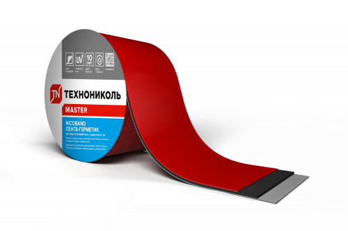 Лента-герметик NICOBAND, 10 см х 3м
